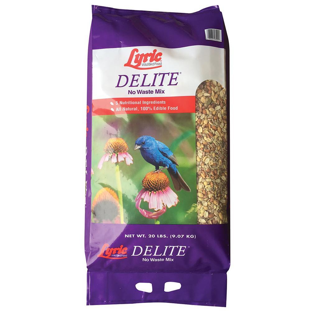 Lyric 20 lb. Delite High Protein No Waste Wild Bird Mix by Lyric