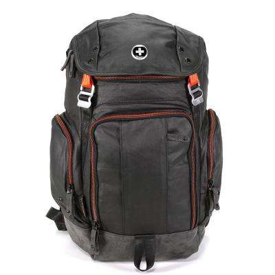 Defrag Laptop 20 in. Black Backpack