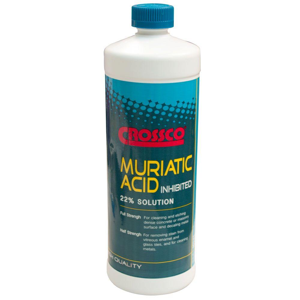 32 oz. 22% Muriatic Acid (12-Pack)