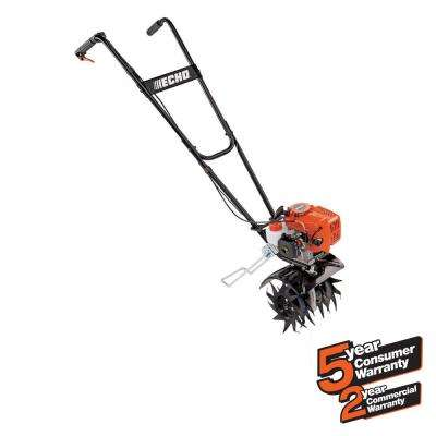 9 in. 21.2 cc Gas Tiller/ Cultivator Front-Tine Forward Rotating