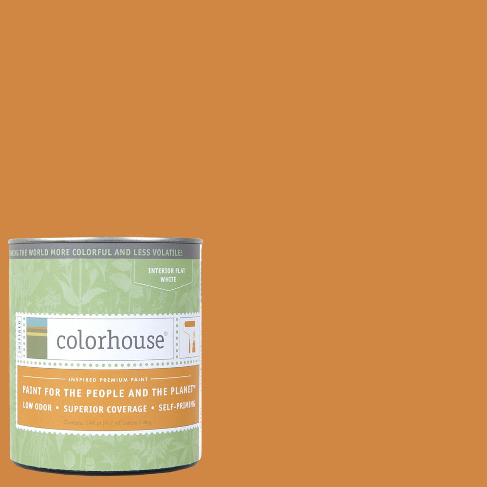 Colorhouse 1 qt. Clay .02 Flat Interior Paint