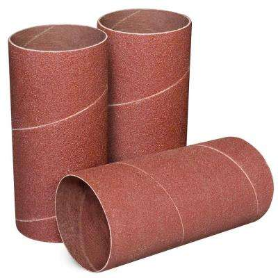 4-1/2 in. x 2 in. 120-Grit Sanding Sleeves (3-Pack)