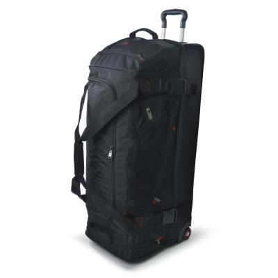 Tour Manager 36 in. Black Rolling Duffel Bag