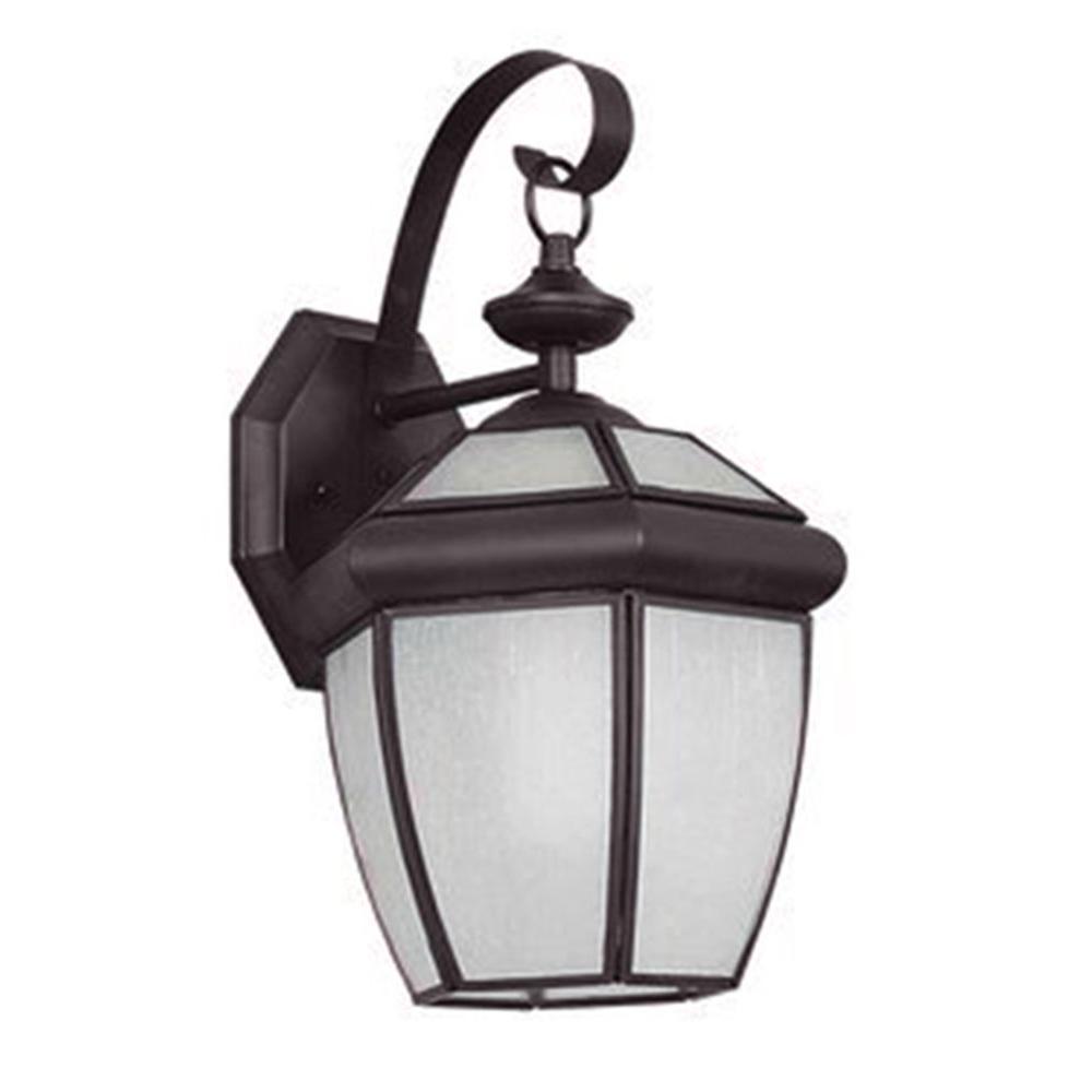 Fergerson 1-Light Oil Rubbed Bronze Outdoor Wall Lantern