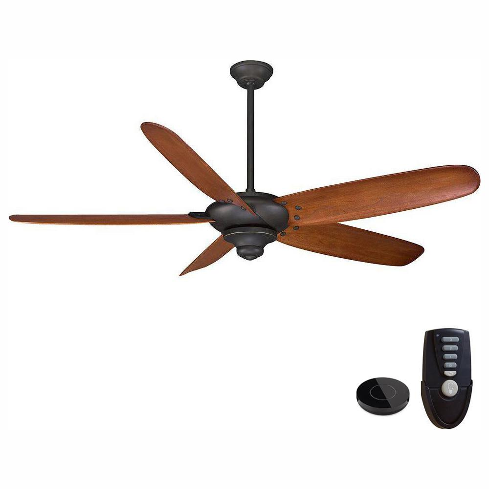 Home Decorators Collection Altura 68 in. Oil Rubbed Bronze Ceiling Fan Works with Google Assistant and Alexa