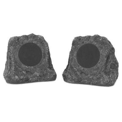 Pair of Wireless Waterproof Rechargeable Bluetooth Outdoor Rock Speakers
