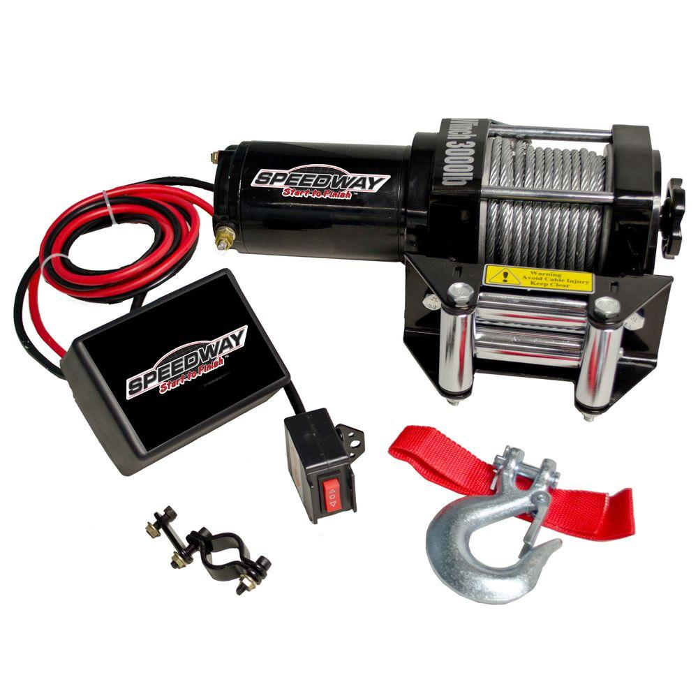 12 Volt Capacity Electric Winch