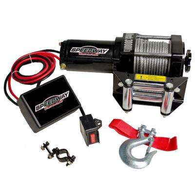 3000 lb. 12-Volt Capacity Electric Winch