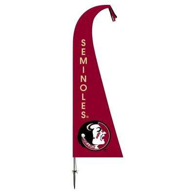 NCAA Florida State Seminoles Feather 1 Ft. X 1.5 Ft. Flag