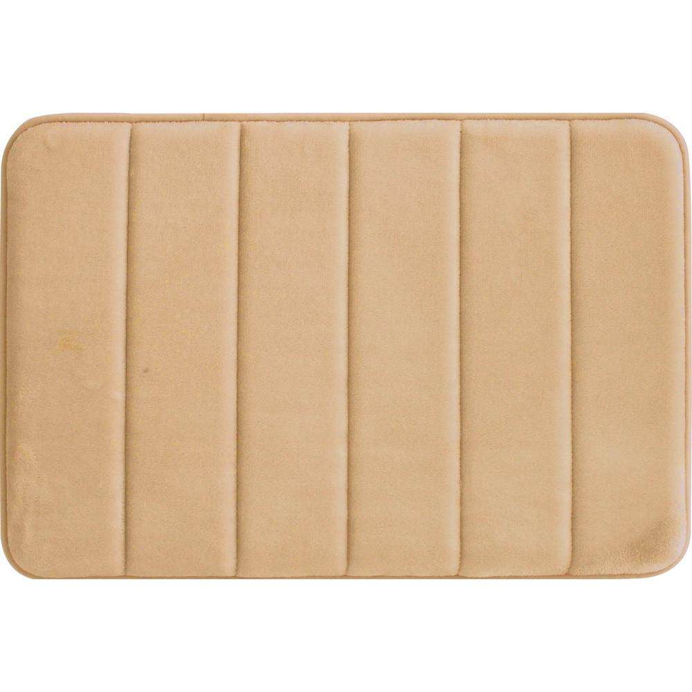 Home Dynamix Tranquility Beige 20 In X 30 In Bath Mat 2a