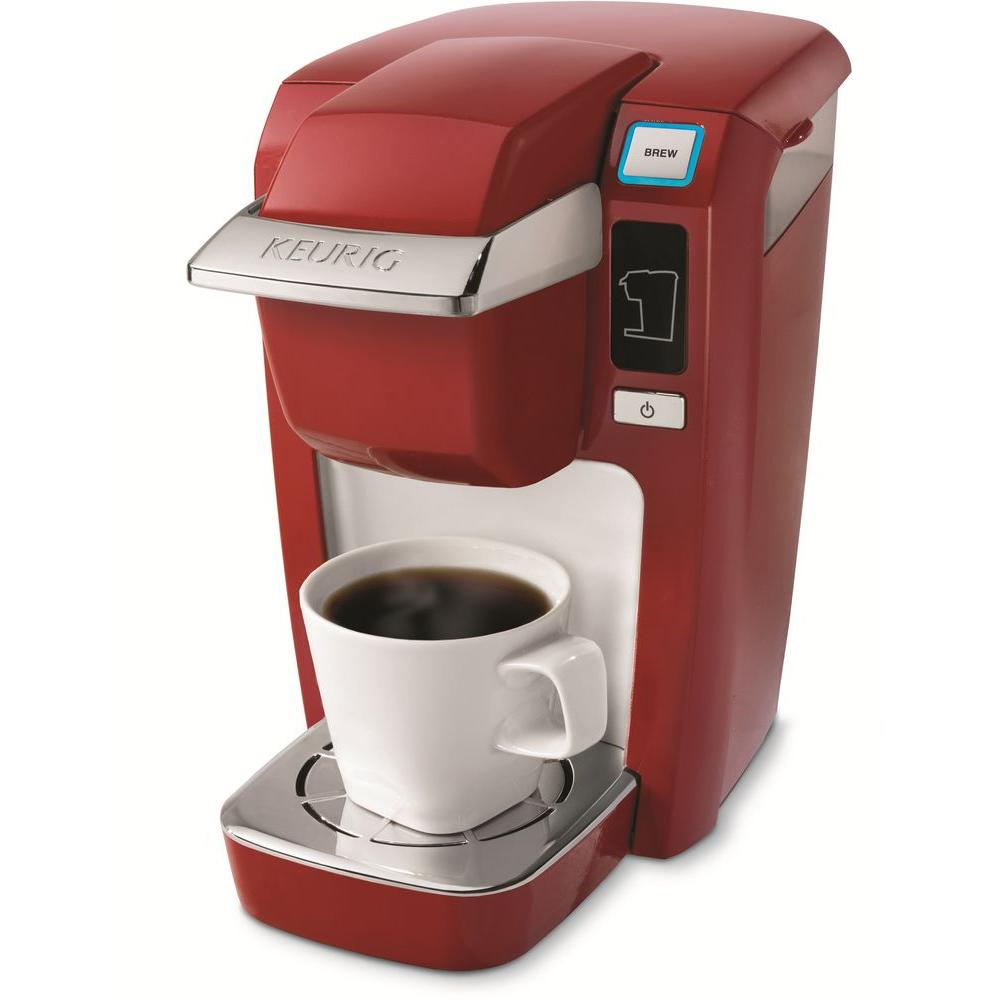 Keurig Mini Single-Cup Brewer in Red-DISCONTINUED