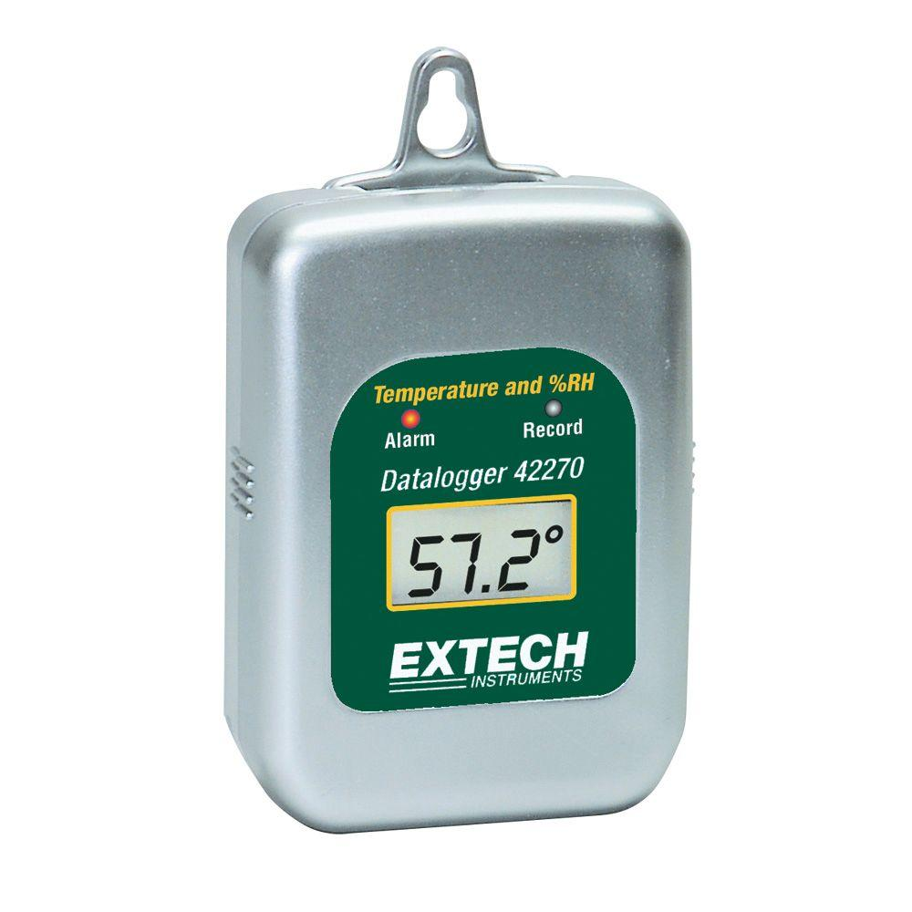 Extech Instruments Humidity and Temperature Data Logger for 42275