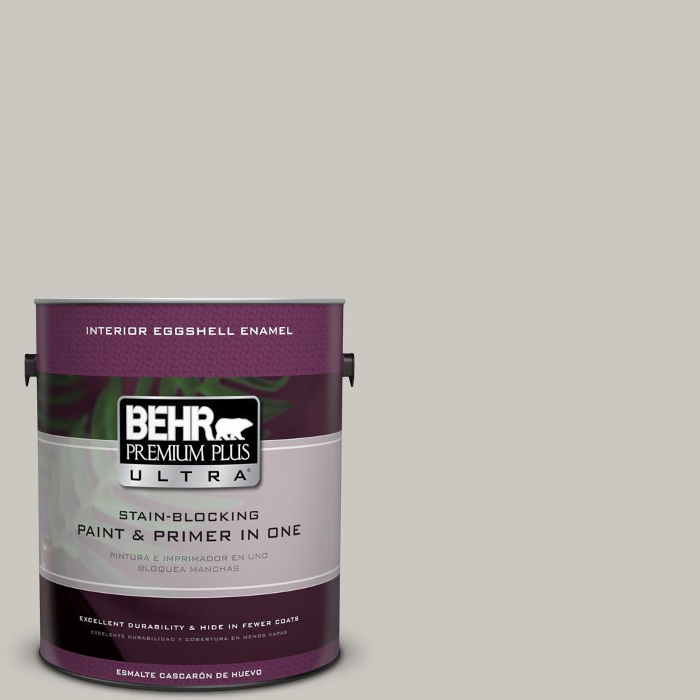 1 gal. #PPU24-12 Whitewash Oak Eggshell Enamel Interior Paint