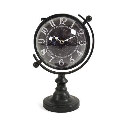 Constellation Designed Rotating Globe Shaped Table Clock