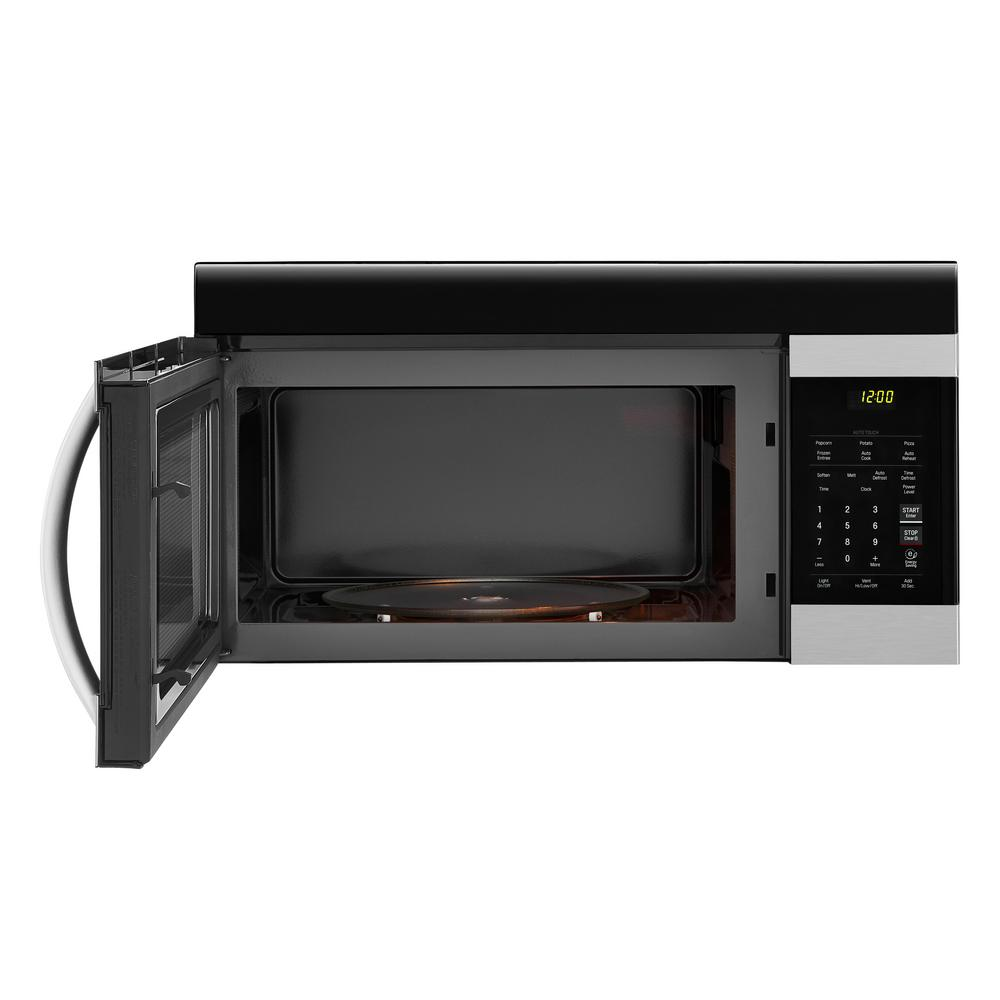 Lg Electronics 1 7 Cu Ft Over The Range Microwave In Stainless Steel With Easyclean