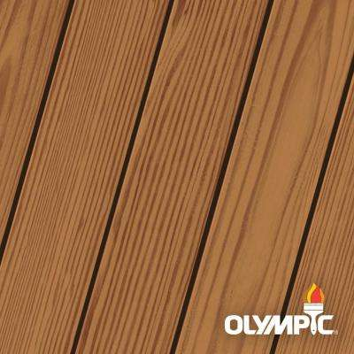 Elite 1 gal. Kona Brown Woodland Oil Transparent Advanced Exterior Stain and Sealant in One Low VOC
