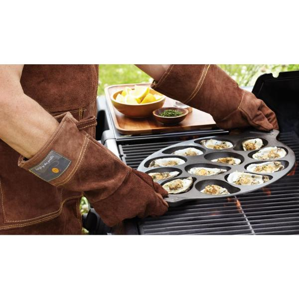 Outset Oyster Grill Pan 76225 The Home Depot