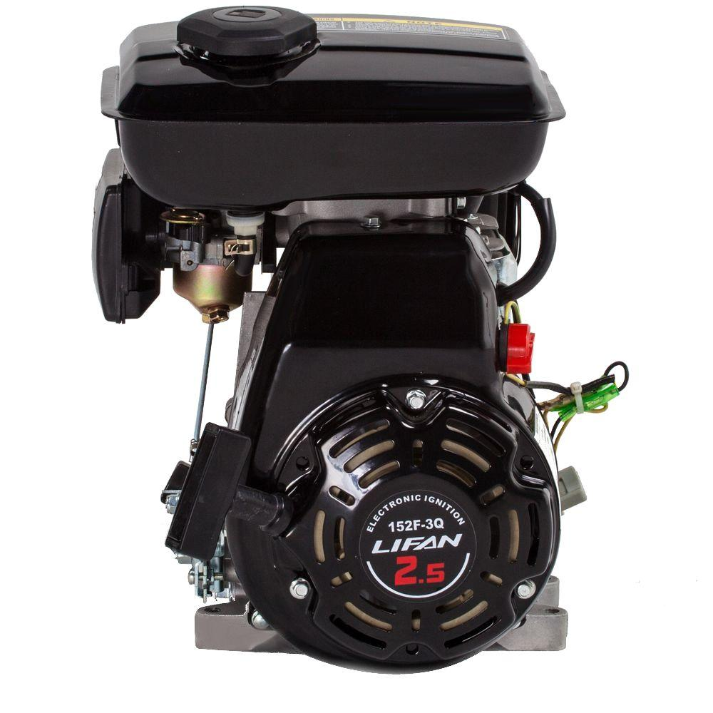 LIFAN 5/8 in. 3 HP 97.7cc OHV Recoil Start Horizontal Shaft Gas Engine