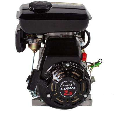 5/8 in. 3 HP 97.7cc OHV Recoil Start Horizontal Shaft Gas Engine