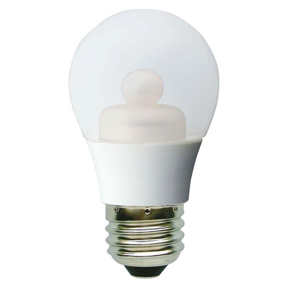 GE 40W Equivalent Soft White (2700K) A15 Clear Ceiling Fan Dimmable LED Light Bulb