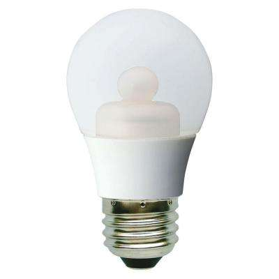 40W Equivalent Soft White (2700K) A15 Clear Ceiling Fan Dimmable LED Light Bulb