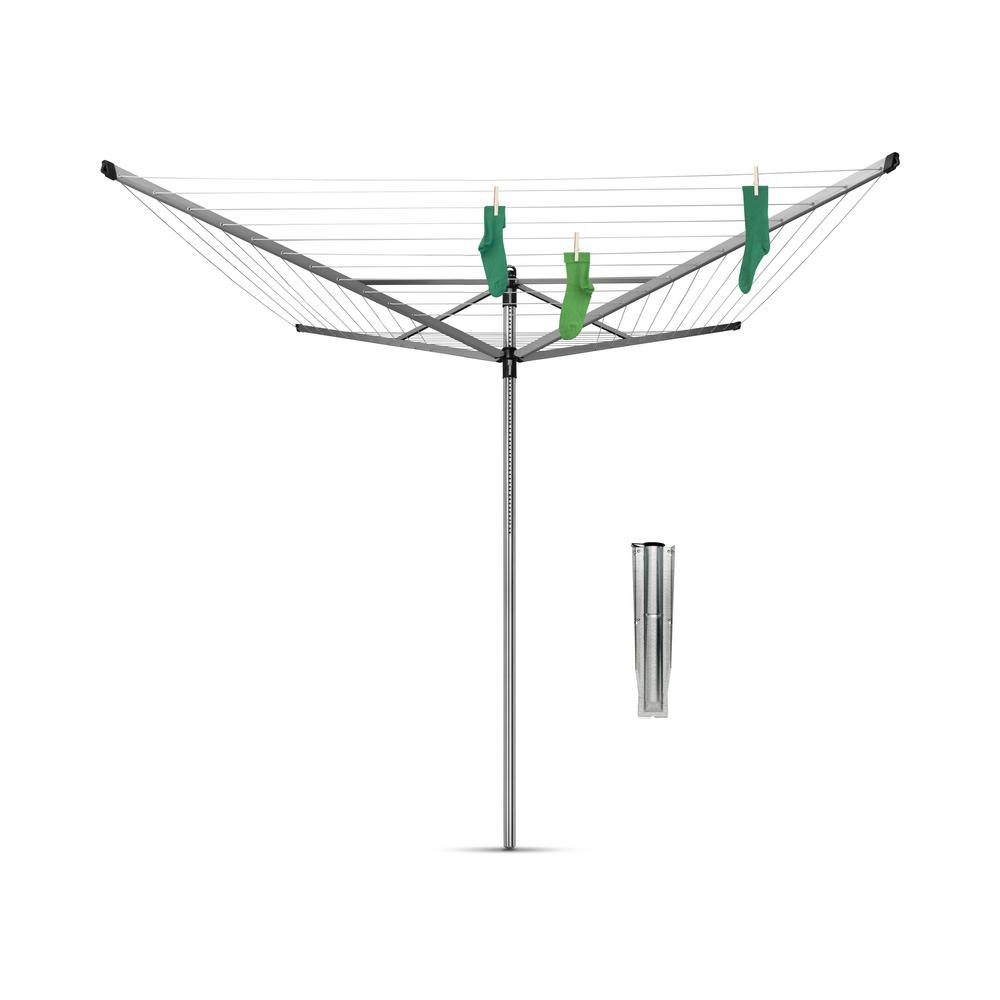 Brabantia 197 ft. (60 m) Ground Spike Cover Lift-O-Matic