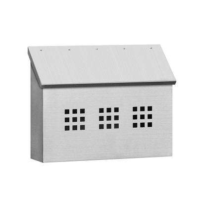4500 Series Stainless Steel Decorative Horizontal Mailbox