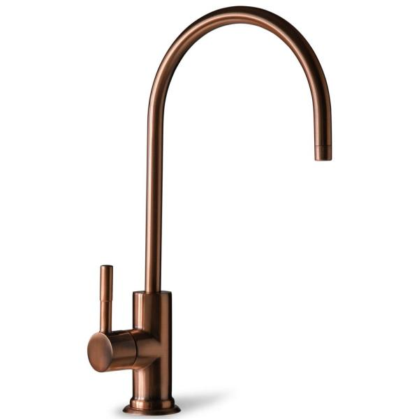 European Designer Drinking Water Faucet for Reverse Osmosis Water Filtration Systems in Antique Wine
