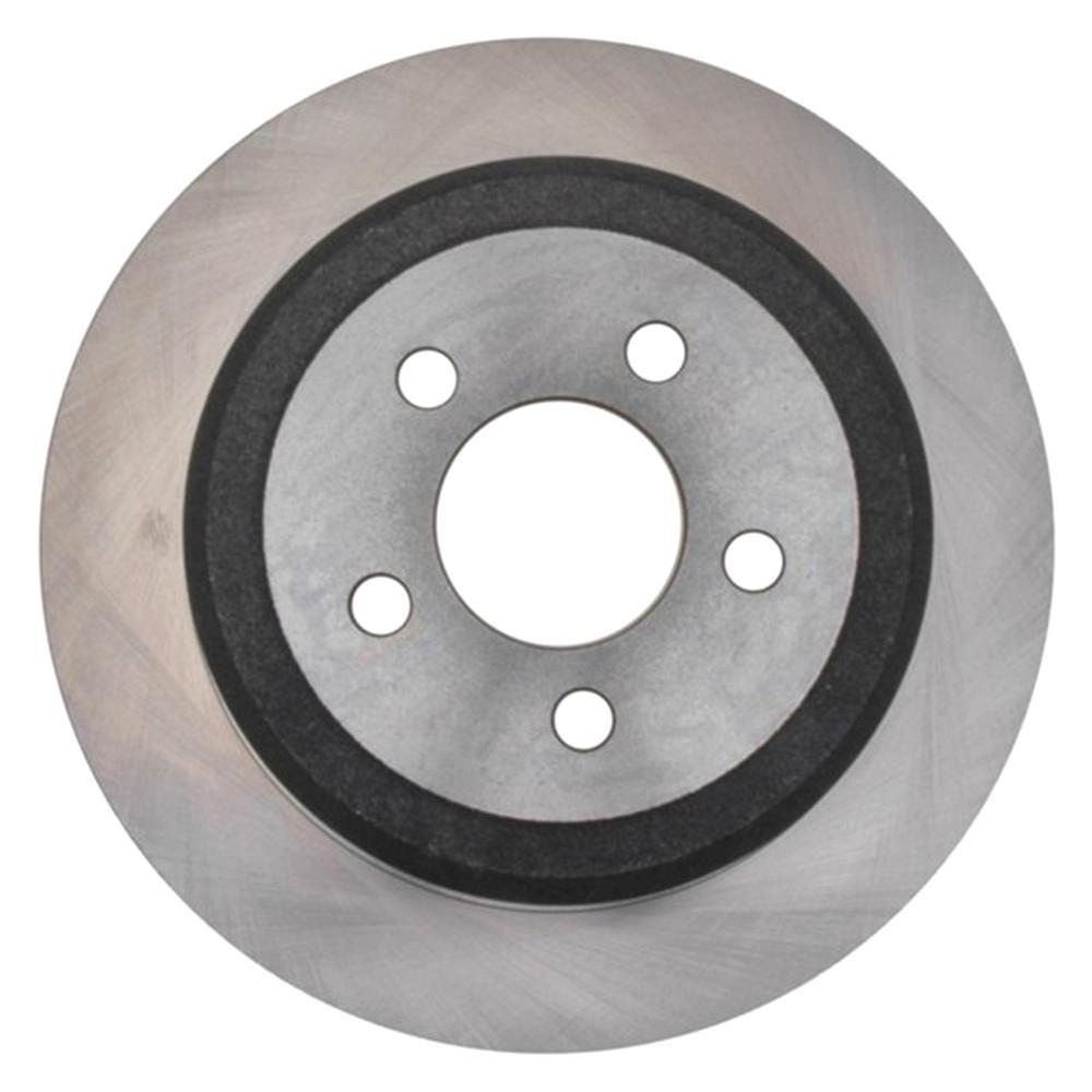 Non-Coated Disc Brake Rotor - Rear