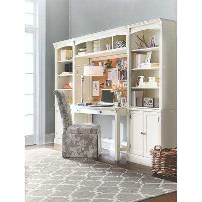 Edinburgh 7-Piece Ivory Modular Office Suite