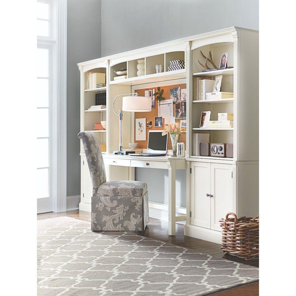 Unbranded Edinburgh 7 Piece Ivory Modular Office Suite