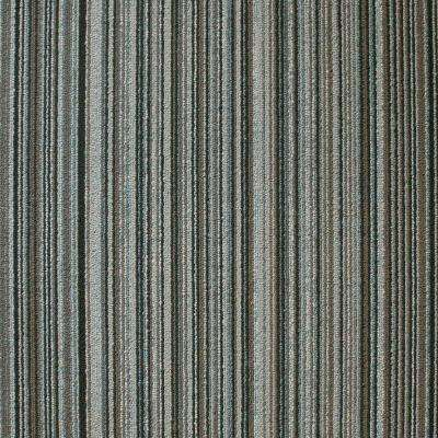 Crown Heights Seabed Loop 19.7 in. x 19.7 in. Carpet Tile (20 Piece/Case)