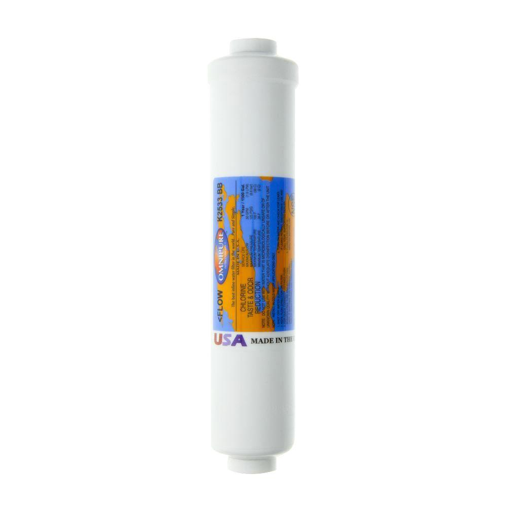 Omnipure K2533bb Inline Gac Filter Cartridge Omnipure K2533bb The Home Depot