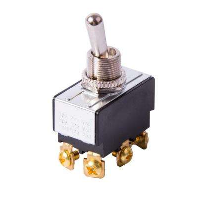 20 Amp 125-Volt AC DPDT Toggle Switch (Case of 5)