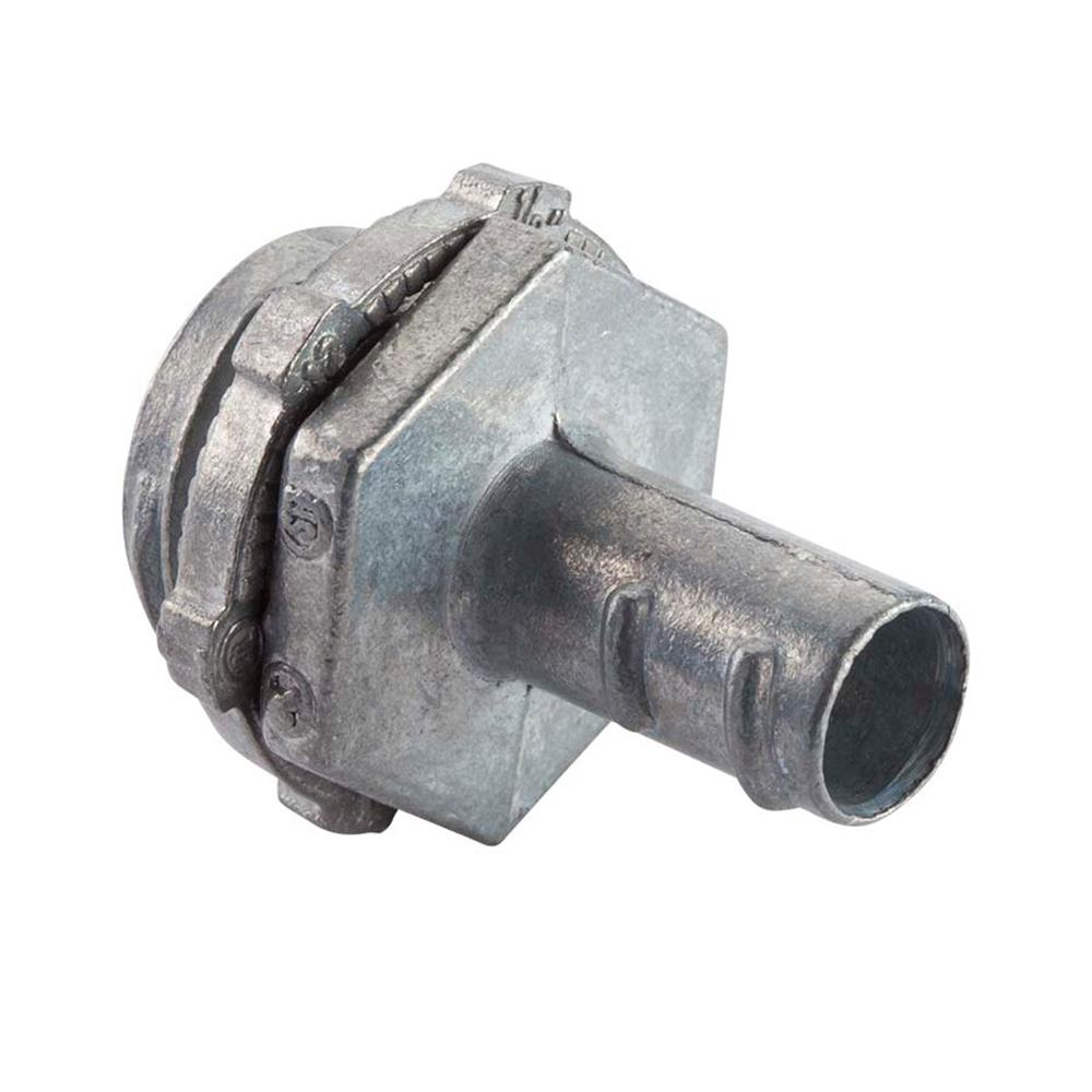null 1 in. Flexible Metal Conduit (FMC) Screw-In Connector
