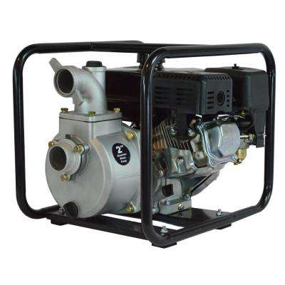 6.5 HP Semi Trash Water Pump