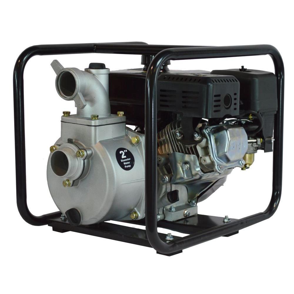 6.5 HP Semi Trash Water Pump