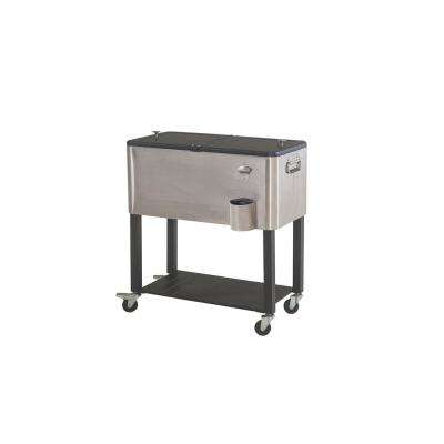 80 Qt. Stainless Steel Cooler