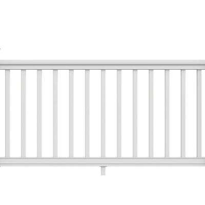 6 ft. x 36 in. Pro Rail White Handrail Kit
