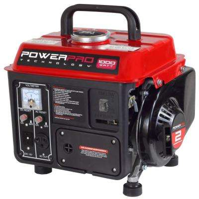 1,000-Watt 2-Stroke Gasoline Powered Portable Generator