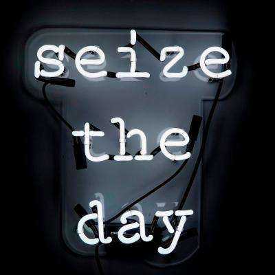 Oliver Gal 'Seize the Day' Plug-in Neon Lighted Sign