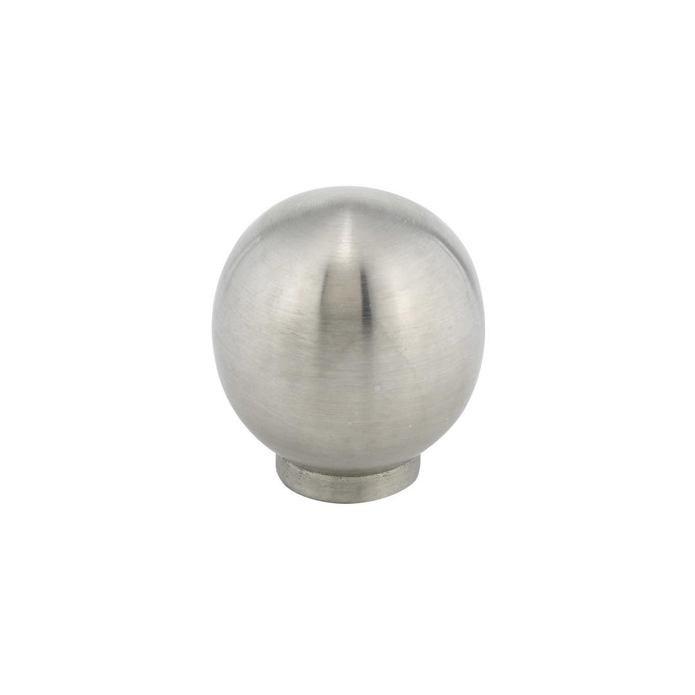 Exceptionnel Richelieu Hardware Contemporary And Modern 1 1/8 In. Stainless Steel  Cabinet Knob