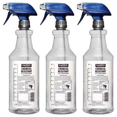 32 oz. Heavy-Duty Chemical Resistant Pro Spray Bottle (3-Pack)