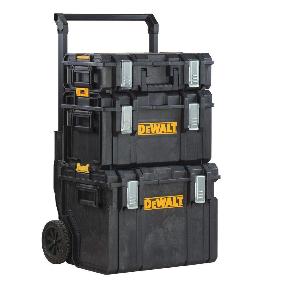 "22/"" Heavy duty ToughSystem Waterproof Large Workshop Tool Storage Box"