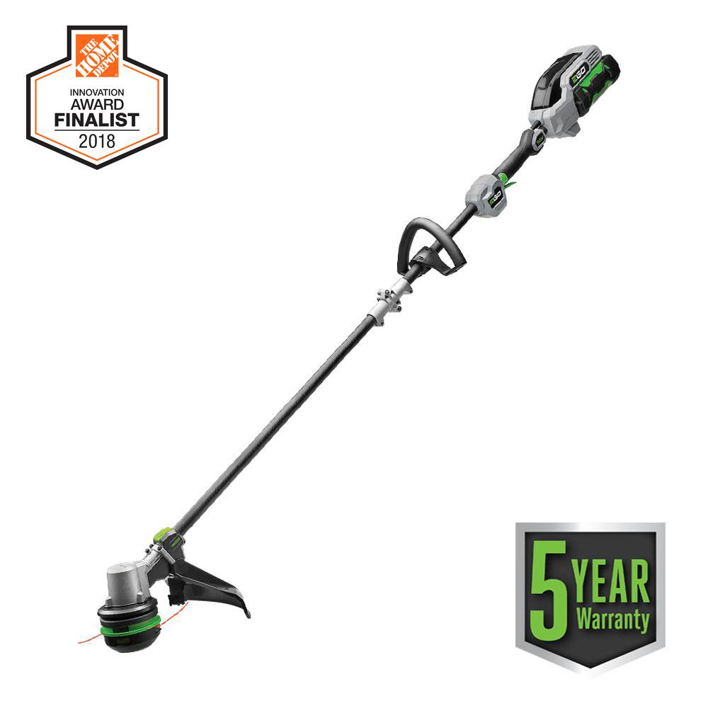 56-Volt Lith-ion Cordless Electric 15 in. Powerload String Trimmer with Carbon
