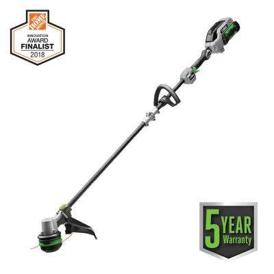 56-Volt Lith-ion Cordless Electric 15 in. Powerload String Trimmer with Carbon Fiber Shaft Kit