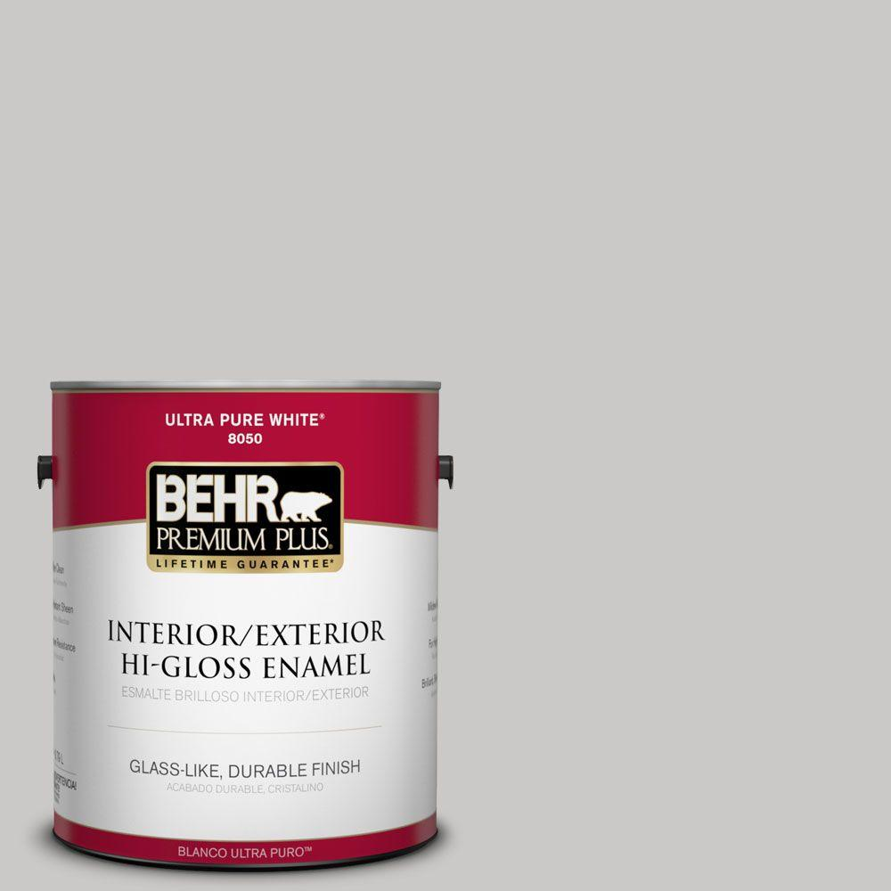 1-gal. #790E-2 Gentle Rain Hi-Gloss Enamel Interior/Exterior Paint