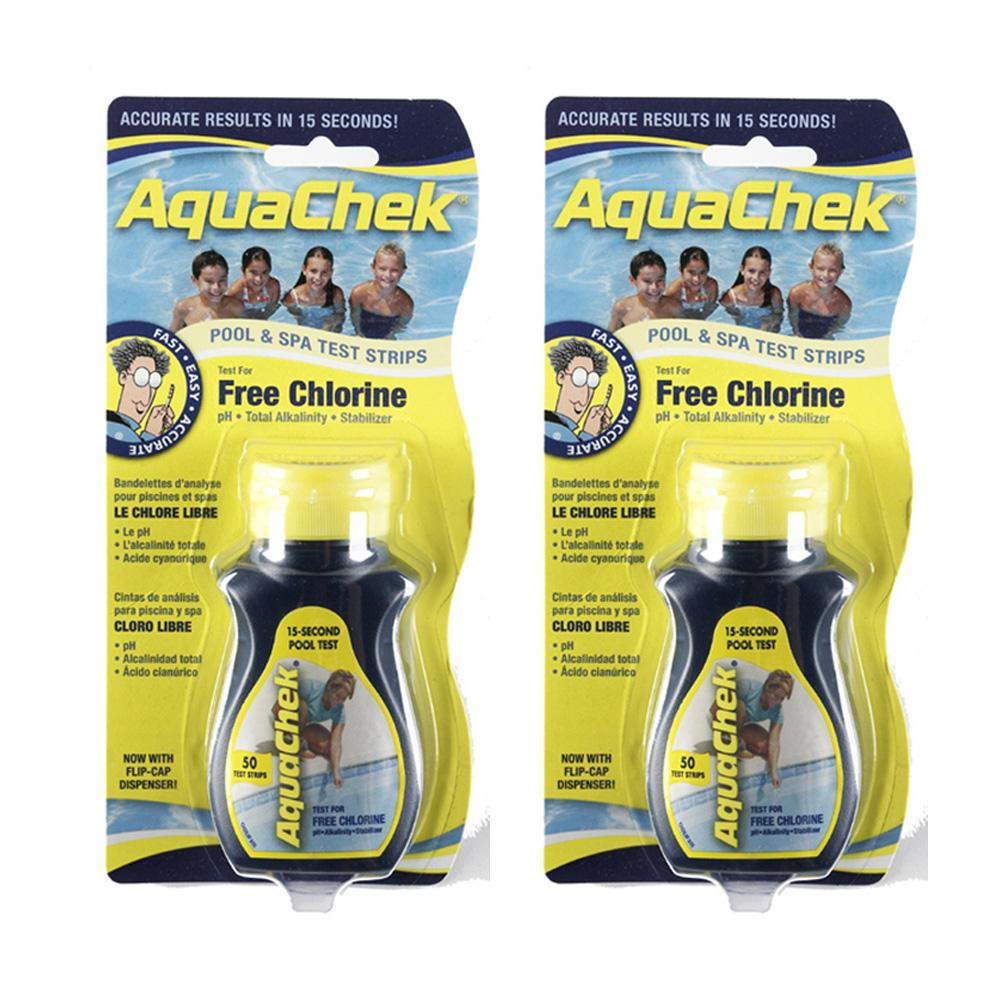 Pool Chlorine Test Strips (2-Pack)