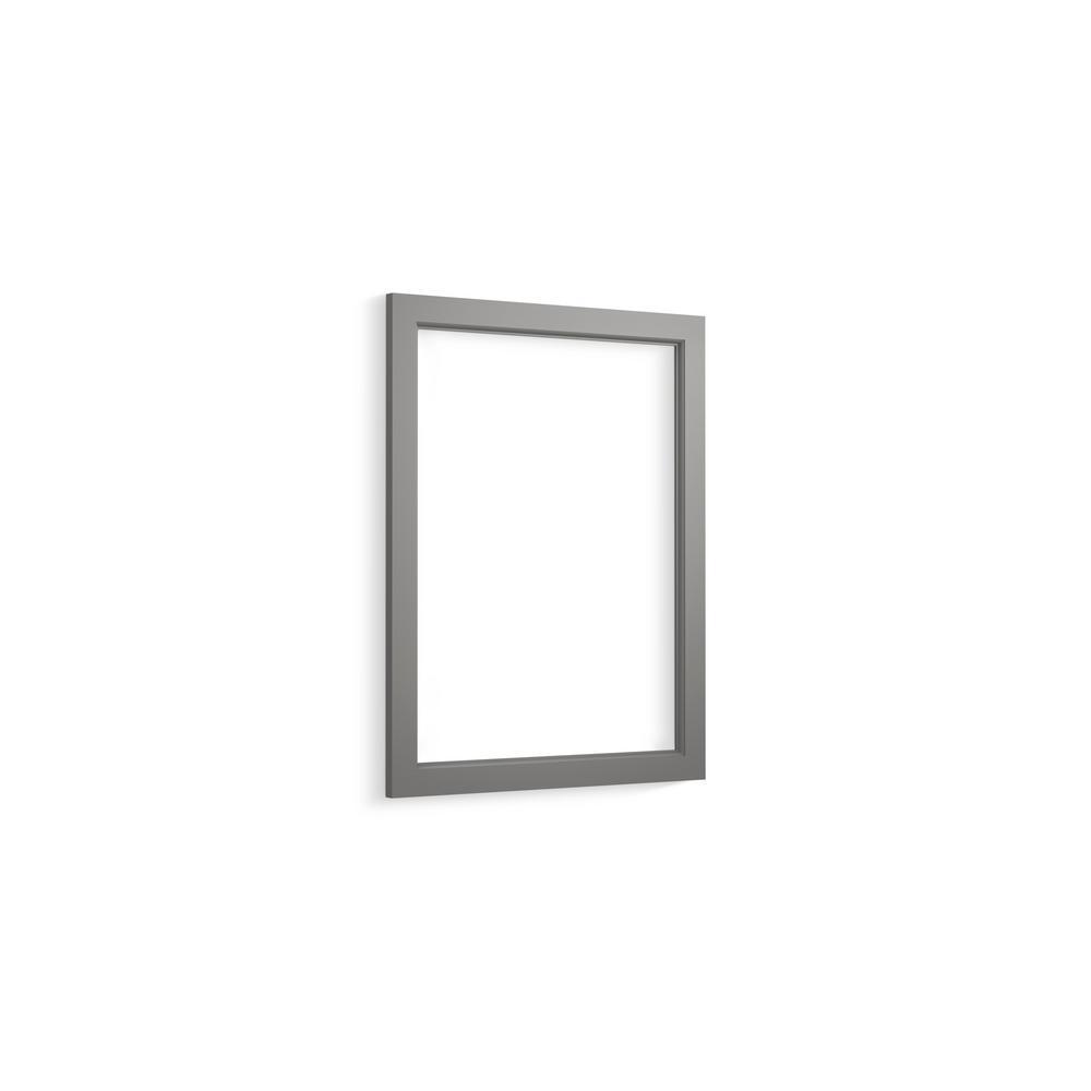 KOHLER Shaker 20 in. Cabinet Frame in Mohair Grey-R99575-20-1WT ...
