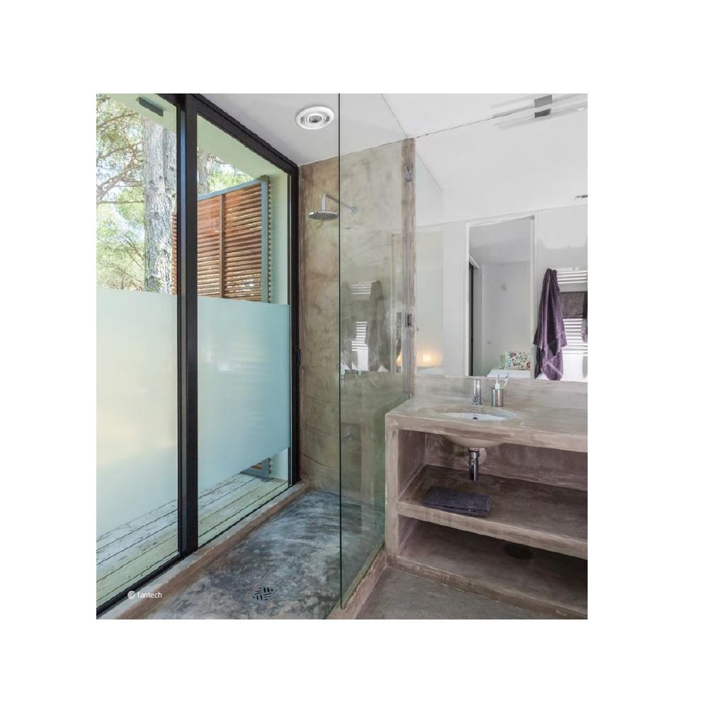 Premium 110 CFM Ceiling Bathroom Exhaust Fan with Dimmable 10-Watt LED Light, Energy Star